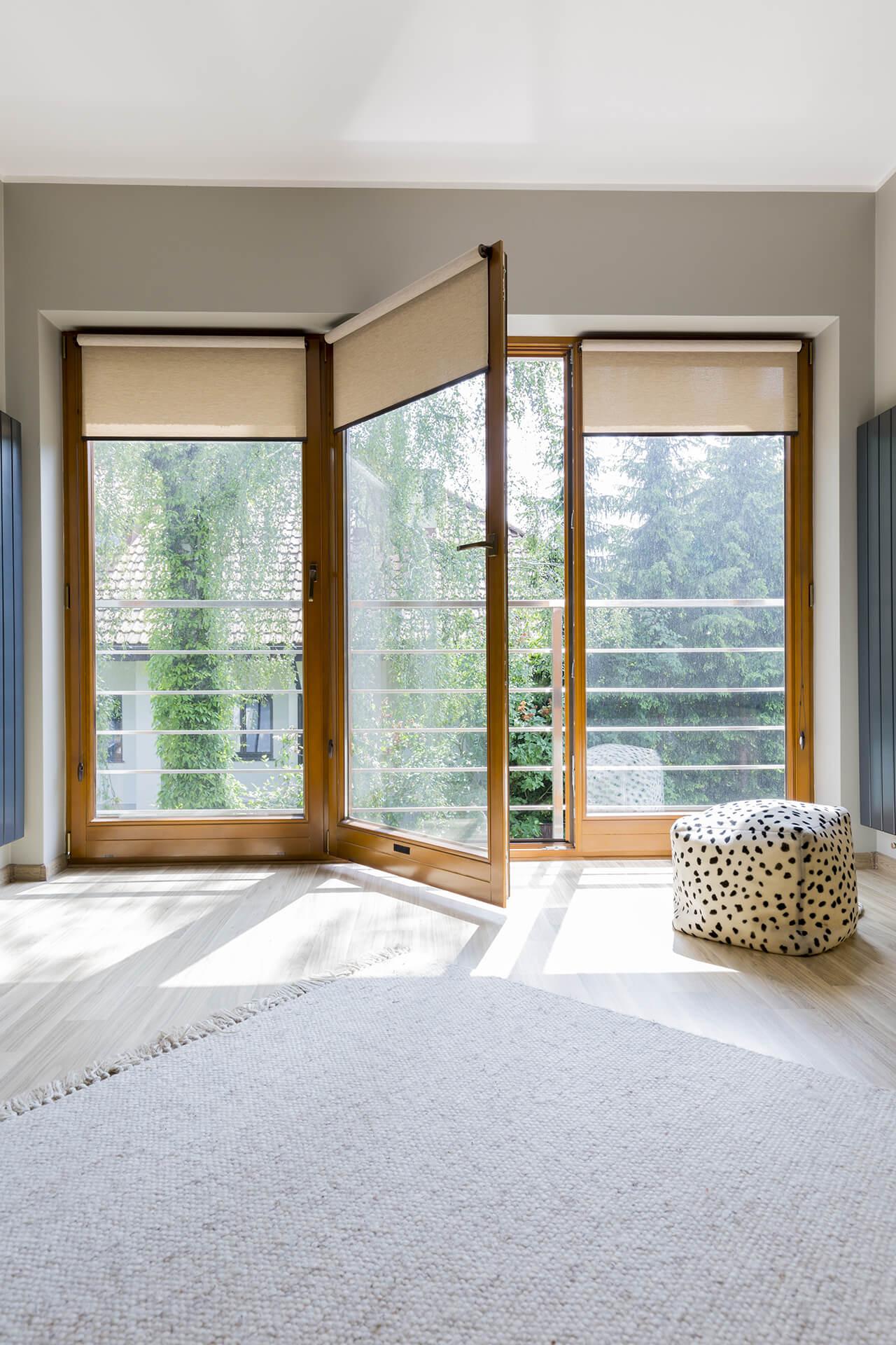 stínící technika a bytový textil
